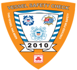 Vessel Safety Check Decal 2010